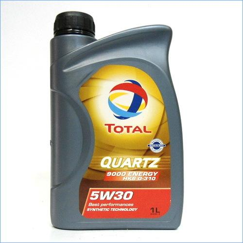 TOTAL QUARTZ ENERGY 9000 HKS 5W30 1 л. моторное масло