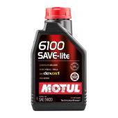 MOTUL 108009 6100 SAVE-LITE 5W20 ( 1л), шт