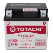 АКБ TOTACHI MOTO YTX5L-BS 5 а/ч L