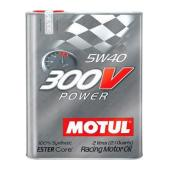 MOTUL  300 V  Power 5w40  моторное масло 12*2л (100% синтетика )  104242